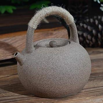 Teiera In Ceramica Teiere Cerdas De Arena Púrpura Tetera Antigua Alcohol Carbón Estufa De Té Estufa