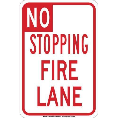 Brady 129635 Traffic Control Sign, Legend