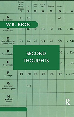 Second Thoughts: Selected Papers on Psychoanalysis (Maresfield Library)