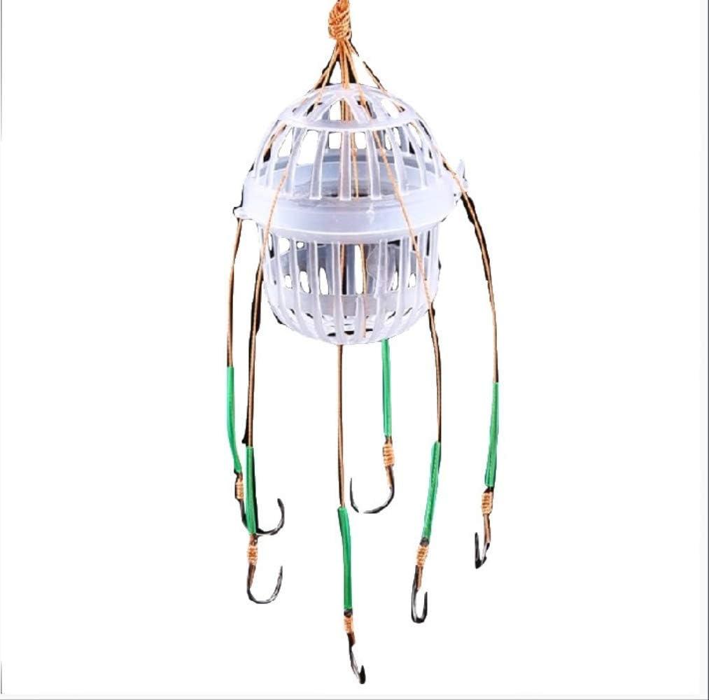 WFQ anzuelos de pesca de explosión, caja de mar esférica con seis fuertes anzuelos de acero al carbono para pescar, accesorios de pesca 13: Amazon.es: Deportes y aire libre