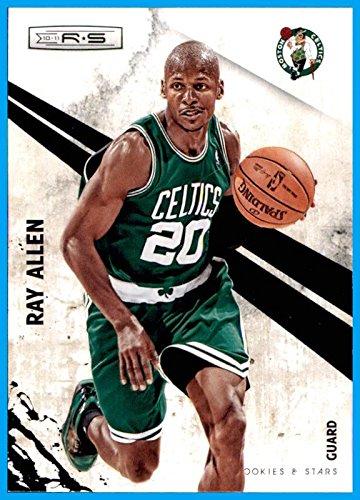 - 2010-11 Rookies and Stars #1 Ray Allen BOSTON CELTICS CONNECTICUT HUSKIES