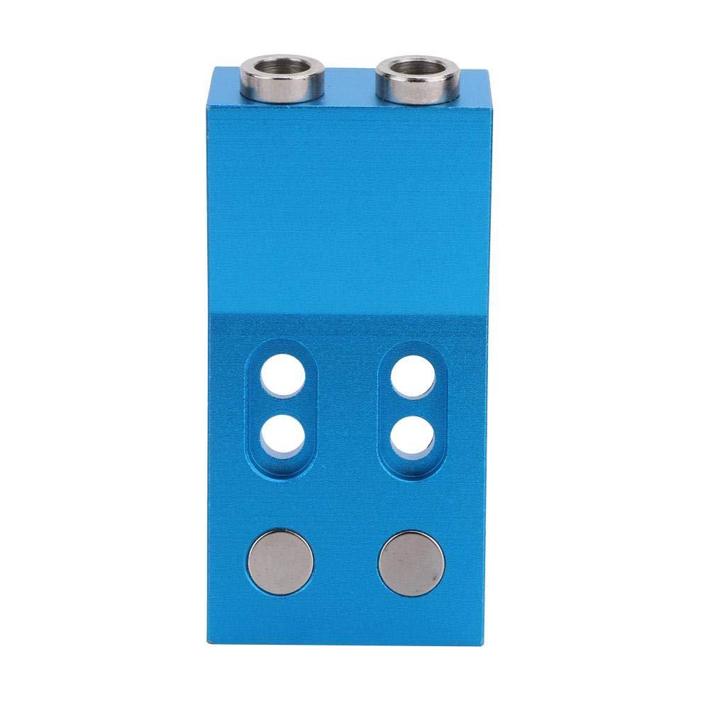 kit de plantilla de perforaci/ón para orificios de bolsillo Posicionador de gu/ía de taladro para taladro oblicuo para carpinter/ía Localizador de gu/ía de taladro para carpinter/ía