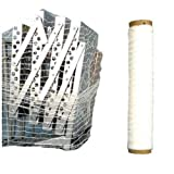"( 4 Rolls ) 20"" 1000' Knitted / Woven Stretch Netting Pipe Wrap Film"