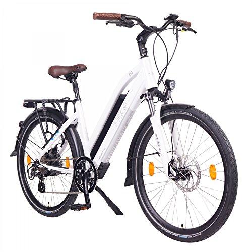 🥇 NCM Milano Bicicleta eléctrica de Trekking