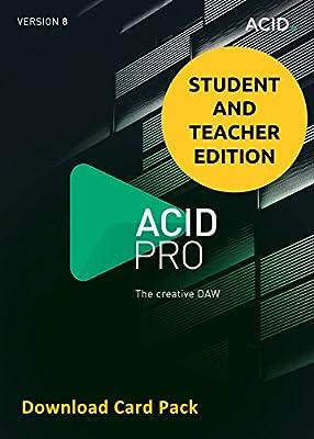 MAGIX Acid Pro 8 for Students & Teachers (Download Card)