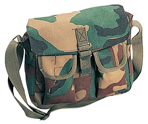 (Rothco Camouflage Ammo Shoulder Bag,10'x8'x31/2')