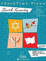 Chordtime Piano Jewish Favorites, Level 2B: I-iv-v Chords in Keys of C, Dm, Em, and Gm