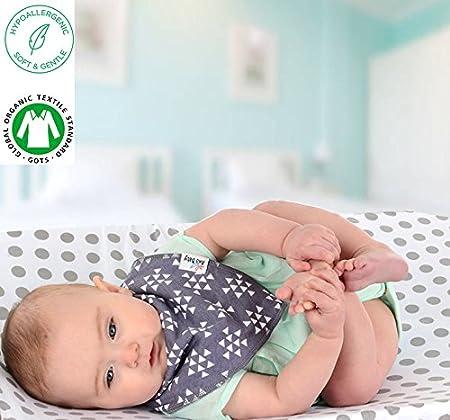 Amazon.com: Premium Bandana para bebé, baberos con 3 ...