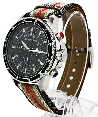 Burberry Endurance Bu7601 Black Chronograph Men's Watch by BURBERRY (Image #7)