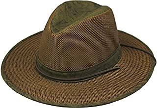 product image for Henschel Hats Breezer Aussie Hat, Distressed Gold Boxed, X-Large