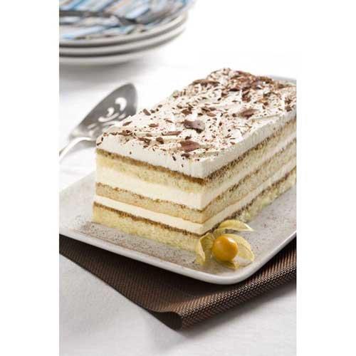 The Original Cakerie Supersize Tiramisu Layer Cake 6 Cut, Dessert Cake, Half Sheet, 174 Ounce -- 2 per case. by The Original Cakerie