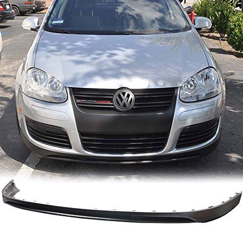 Gti Front Lip (06-08 VW Volkswagen Golf 5 GTI / Jetta 2/4 Door Polyurethane Add-On Front Bumper Lip Urethane)