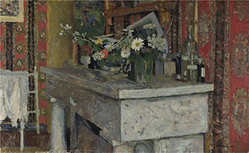 Oil Painting 'Edouard Vuillard - The Mantelpiece (La Cheminee),1905', 8 x 13 inch / 20 x 33 cm (Delta Success Programming)
