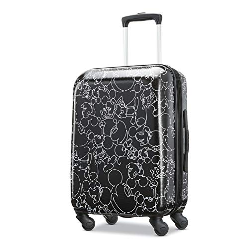 - American Tourister Kids' 21 Inch, Mickey Mouse Scribber Multi-Face
