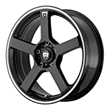 Motegi Racing MR116 Gloss Black Wheel With Machined Flange (17x7''/5x100, 114.3mm, 40mm offset)