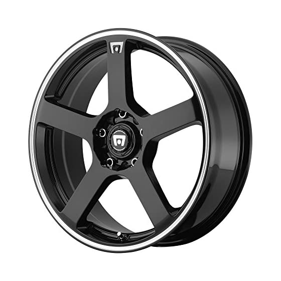 Motegi Racing MR116 Wheel with Gloss Black Finish (15×6.5″/4×4.25″)