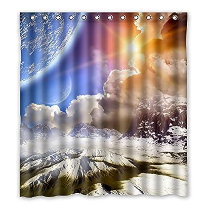 hermosas fotos de invierno naturaleza Hermoso Paisaje De Invierno Con Nieve Montaa Sol Cortina De