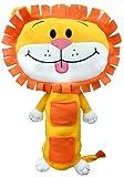 Childrens Car Seat Belt Soft Toy Pet Travel Pillow - Lion