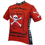 World Jerseys Men's Jolly Roger Pirate Cycling Jersey