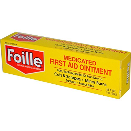 Foille Medicated First Aid Ointment 1 oz (Pack of 3) First Aid Ointment Medicine