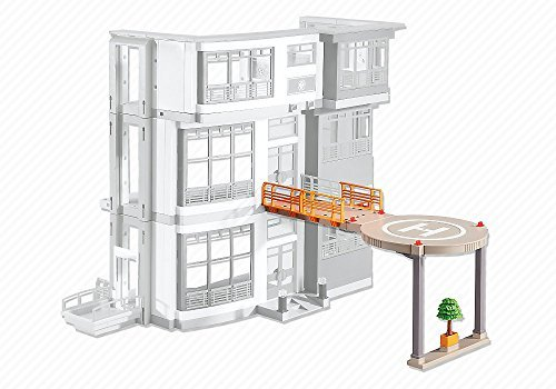 PLAYMOBIL® Add-On Series - Helipad for Furnished Children's Hospital (6657)
