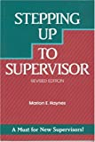 Stepping up to Supervisor, Marion E. Haynes, 1560521120