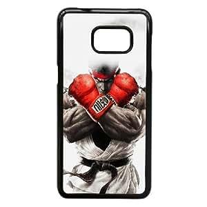Ah69 Street Fighter Ryu Art Illust Game plastic funda Samsung Galaxy S6 Edge Plus cell phone case funda black cell phone case funda cover ALILIZHIA14813
