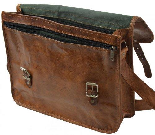 63c159b8986b4 Borsa a tracolla Gusti Pelle Borsetta Vintage portatile spalla Uni Scuola  Marrone U17A  Amazon.it  Scarpe e borse