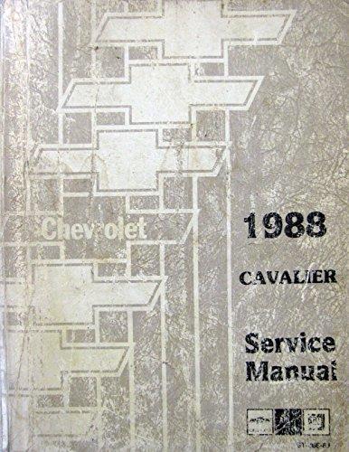 cavalier service manual - 2