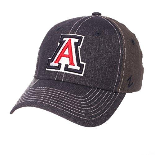 Zephyr NCAA Arizona Wildcats Men's Dusk Hat, Medium/Large, Team Color/Dark Grey