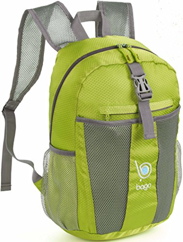 Bago Lightweight Backpack. Waterproof Collapsible Rucksack f