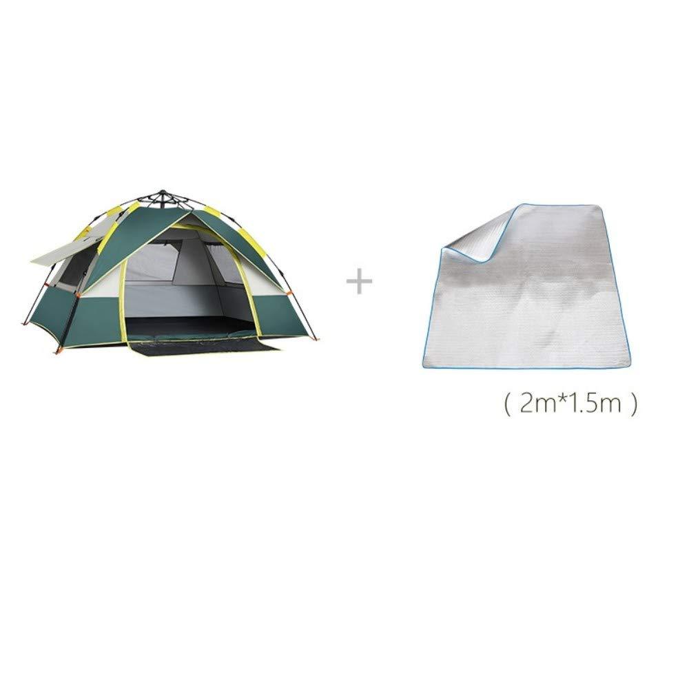 SGXDM Anti-Sturmregen des automatischen Zeltes im Freien Freien Freien 3-4 Leute Starkes regendichtes Doppeltes 2 einzelnes kampierendes Kampieren B07PK75242 Firstzelte Vielfalt f9698a