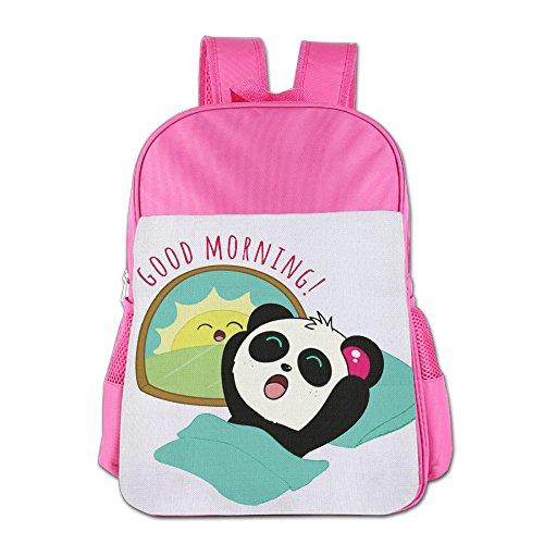Panda Kid School Bag For 4-15 Years Old Child's ShoulderBackpack Pink For - Dance Bill Sunglasses
