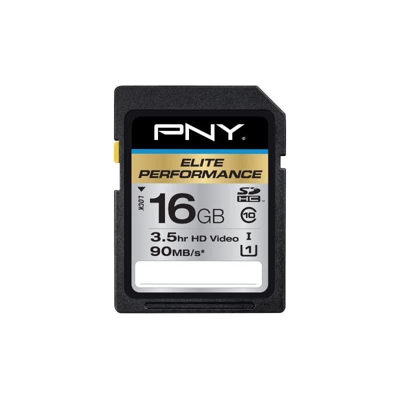 PNY Elite Performance 16GB High Speed SD