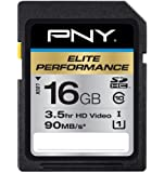 PNY 16GB SDHC Elite Performance UHS-1 90MB/sec