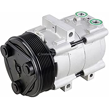 AC Compressor & A/C Clutch For Ford F-150 F-250 F-250 F-350 F-450 Super Duty - BuyAutoParts 60-01392NA NEW