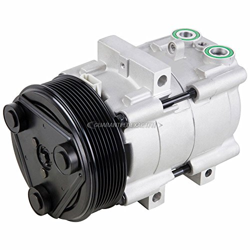 Ford F150 Clutch - AC Compressor & A/C Clutch For Ford F-150 F-250 F-350 F150 F250 F350 & Super Duty w/ 8-Groove Pulley - BuyAutoParts 60-01392NA NEW