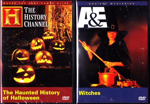 The Haunted History of Halloween , Witches Ancient Mysteries : The History of Witches - 2 Pack Collection -
