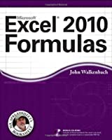 Excel 2010 Formulas Front Cover