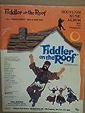 souvenir music album FIDDLER ON THE ROOF
