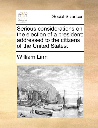 serious considerations on the election of a president 読書メーター