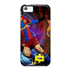 Premium Protection 2013 Lionel Messi Case Cover For Iphone 5c- Retail Packaging