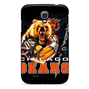 Durable Chicago Bears Back Case/cover For Galaxy S4 by lolosakes
