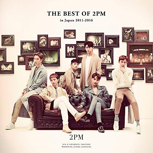 THE BEST OF 2PM in Japan 2011-2016 (통상반) (특전 없음)