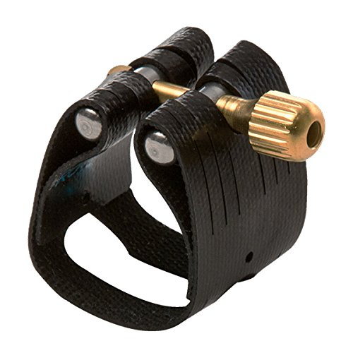 Rovner L4 Light Ligature with Cap for Eb Clarinet, Nickel Fittings
