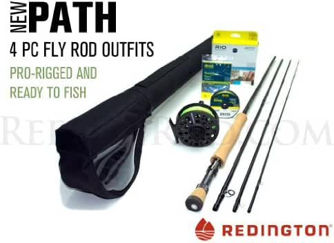 Redington Path 890-4 Saltwater Fly Rod Outfit (9'0