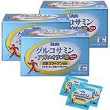 宝ヘルスケア グルコサミン + アガロオリゴ糖 <6粒×30包入り(1日の目安:6粒)>×3箱セット