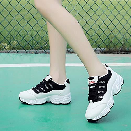 Running All'aperto Da Scarpe Sneakers Sunnywill Fitness Donna Basse Tennis Nero Sportive Ginnastica Interior pCFpIgy1