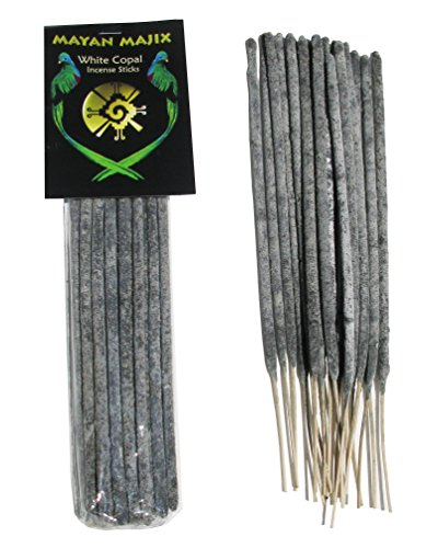 Mayan White Copal Incense Sticks - incensecentral.us