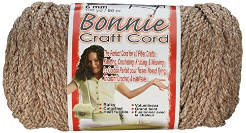 Pepperell Bonnie Macrame Craft Cord, 6mm 100-Yard, Pottery ()